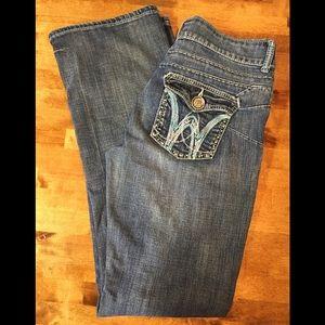 Wrangler Ladies Jeans 7/8 x 34